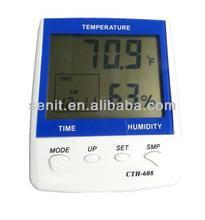 Cina termometro digitale igrometro, max-min temperatura e umidità funzione di memoria