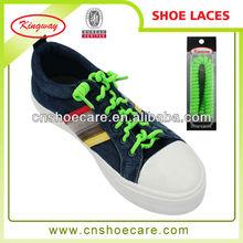 2015 wholesale elastic spring shoe laces for sport shoes