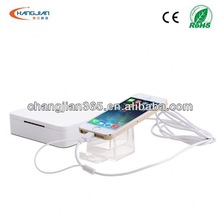 my favorite mini laptop with 5 ports sensor host for display stand of mobile phone/camera/tablet PC with security alarm