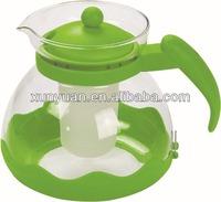 1500ML Multiple function Hot & Cool glass tea infuser