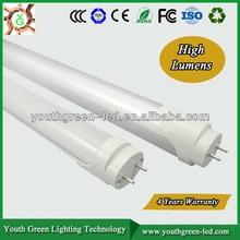 5 Years Quality Guarantee 0.6m 1.2m t8 led tube 86-265v/ac CE RoHs High effeciency Super brightness CE ROHS