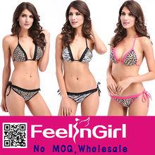 wholesale cheap leopard print 2012 micro bikini fashion swimwear