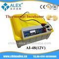 Precio razonable inteligente controlador de la incubadora bacterias incubadora de temperatura y humedad incubadora