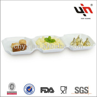 Y1818 New White Long Rectangle Plate