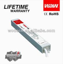 AC/DC single output waterproof LED driver 30w 12v 2.5a
