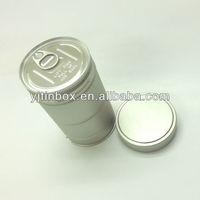 dongguan yi jin ltd supply tea cans with screw top tin can tea can