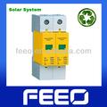 Caliente! Energía Solar fabricante 2 p 500VDC Protector contra sobretensiones