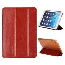 Foldable Stand Flip Leather+Plastic Case for iPad Mini 2 Retina