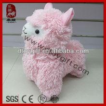 2015 mascot sheep toys birthday gifts cute lamb sheep soft toy plush alpaca animal pink sheep stuffed alpaca toys