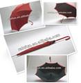 2014 nuevo producto largo manual de capas dobles de la señora paraguas paraguas