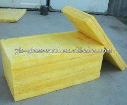 Fiberglass insulation board/glass wool construction material