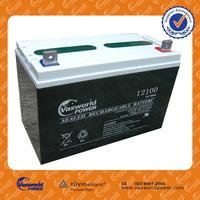 Dry battery for UPS 12V100AH agm battery