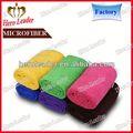 Toque Ultra macio wearable tela de seda impressão de microfibra pano de limpeza made in china