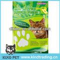 pet 2014 producto libre de la muestra de arena para gatos bentonita de fábrica