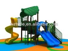 China new outdoor adventure playground equipment Green Leaf Series BLSP-008