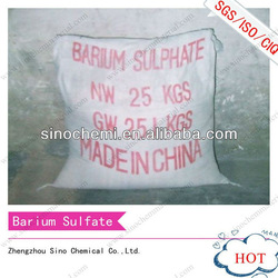 industrial grade 98.5% Natural paint chemical barium sulfate baso4