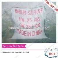 industrial grade 98.5% Natural paint chemical barium sulfate baso4