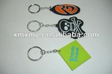 Best Soft PVC Promotional Rubber Keyrings