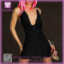 2014 Latex Design Black XXL Sexy Girl Babydoll