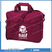 2014 Promotional Satchel polyester shoulder Messenger bag for laptop and messenger bag for table