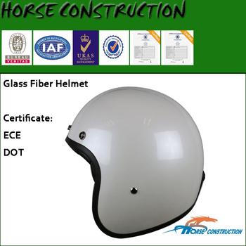 HM L Size Glass Fiber Open Face Helmet