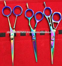 Hair Cutting scissor with black matte coating new design hair scissors,professional hair cutting scissors
