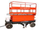 hydraulic scissor lifting table/motorcycle lift table/small cargo lift