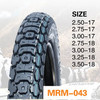 China tyre factory off road motorcycle tubeless tyres2.50-17