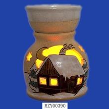 Mini House Perfume Ceramic Fragrance Oil Burner