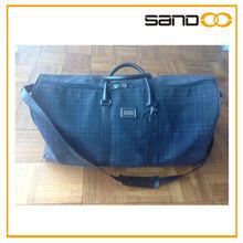 Plaid fabric Duffle bag fashion lady wpmen duffle bag