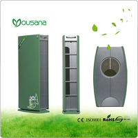 Air cleaner with ionizer remove germs, virus, dust, formaldehyde