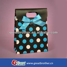 Hot sale jewelry store custom paper bag