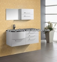 Wall Hanging Bathroom Vanity with mirror cabinet AG-822