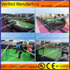 Durable inflatable football field,inflatable human football game