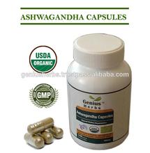 Premium Quality Ashwagandha capsules for Bulk Export