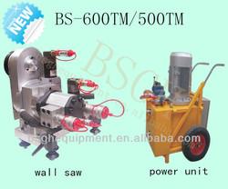 Distant controlled hydraulic concrete wall saw machine HWS-600TM