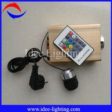 16W LED fiber optic light engine colorful