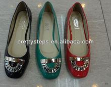 2014 bulk wholesale china Pretty Steps fashion ladies flats causal shoes latest design