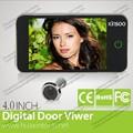 digital visor da porta com a imagem clara