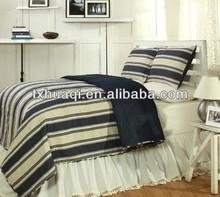 bicolor microfibre comforter