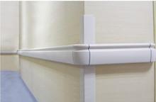 aluminum handrail for healthcare