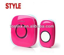 FORRINX Wireless Doorbell Waterproof High-temperature & Low-temperature Resistant with 52 Ring Tones