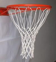 Nylon basketball net with NON-WHIP TOP