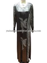 NY246 fashion 2014 islamic clothing long muslim abayas