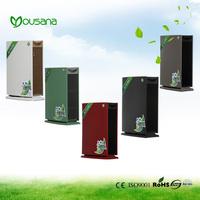 electrostatic precipitator air purifier for bed-ward