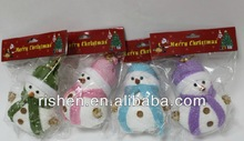 hot selling cute snowman christmas tree decorations2014