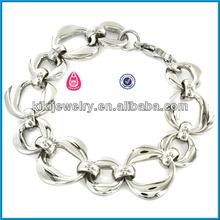 the paris fashion tv show latest design pave chain curb link bracelets wholesale bracelet