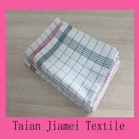 plain white & cotton tea towel wholesale