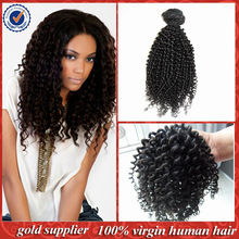 Natural Hair Products 2014 New Arrival afro kinky curly hair weave brazilian human hair kinky curly
