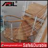 brass stair handrails